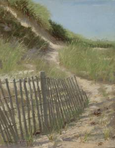 """Steps Beach"" 9x12 oil on linen"