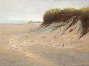"""Daybreak Dunes, Colossians 1""12"" 9x12 Oil"