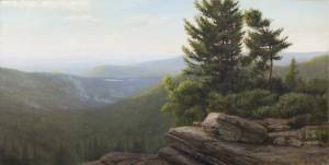 """Mountain Dawn: Psalms 84:11"" 20x40, oil on linen"