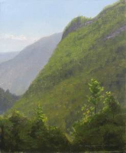 """Crawford's Notch"" 9x12 oil on linen"